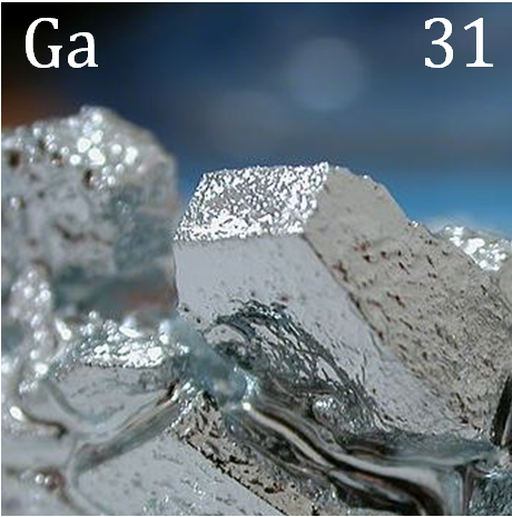Gallium At Room Temperature